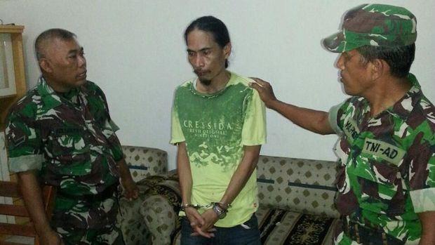 Pria yang mengaku tentara telah diamankan