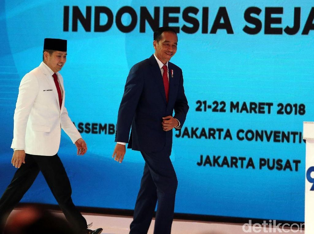 Perindo Sambut Baik Jika Gerindra Gabung Koalisi Jokowi