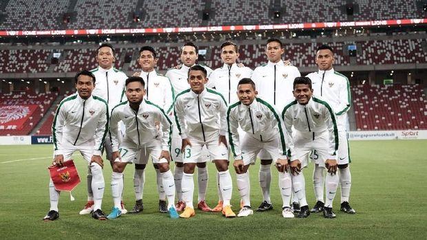 Timnas Indonesia U-23 meraih kemenangan telak atas Singapura.