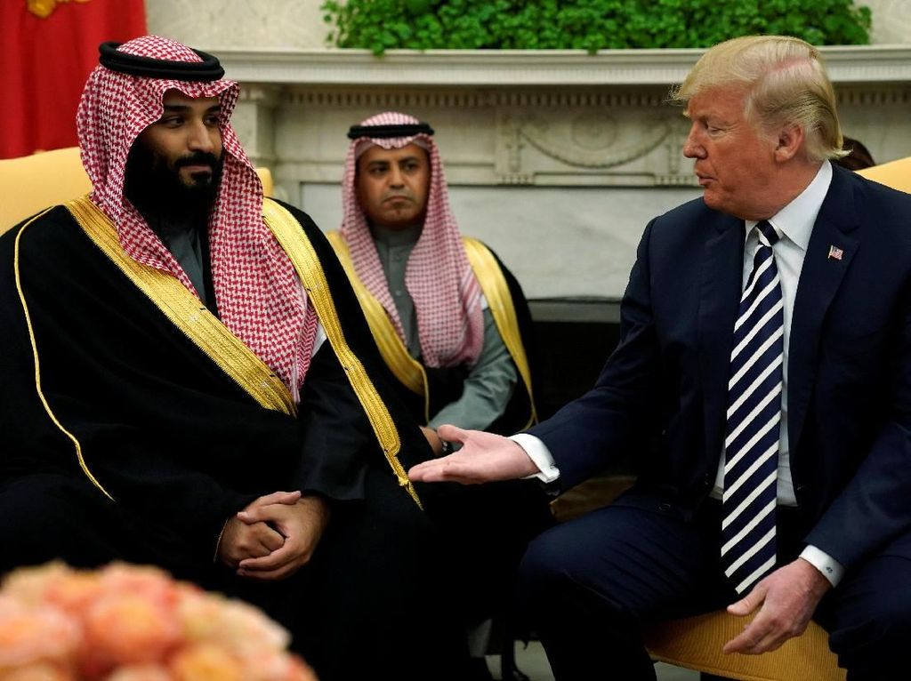 Geger Perundingan Rahasia Trump dengan Saudi