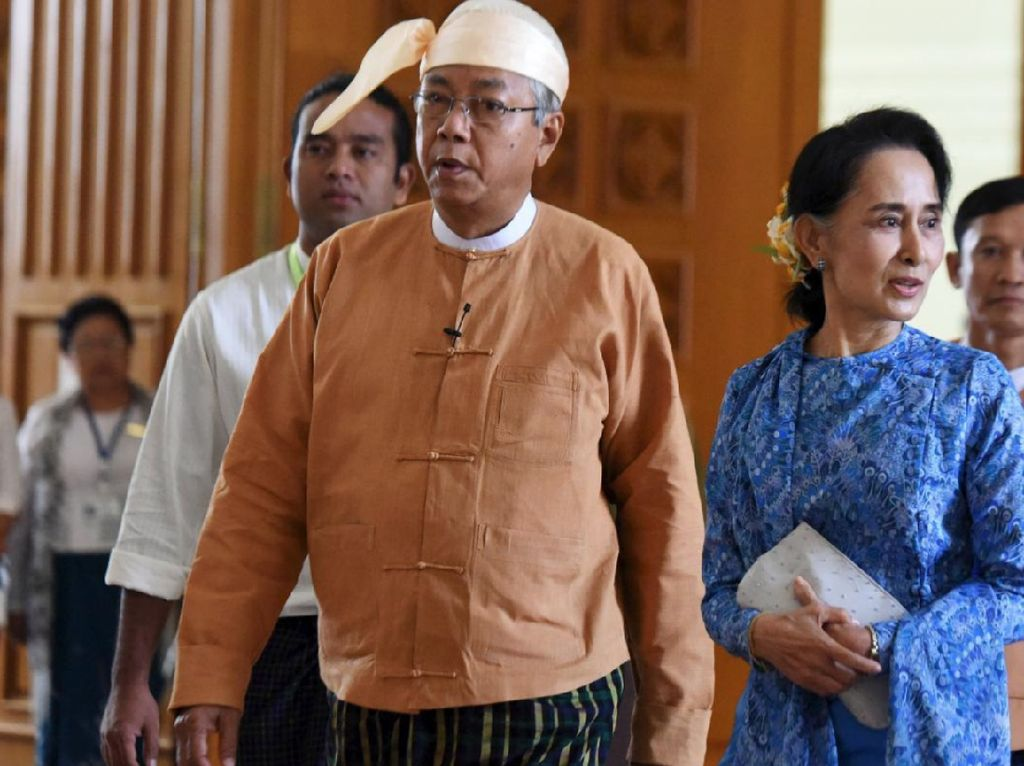 Potret Presiden Myanmar yang Mendadak Mundur