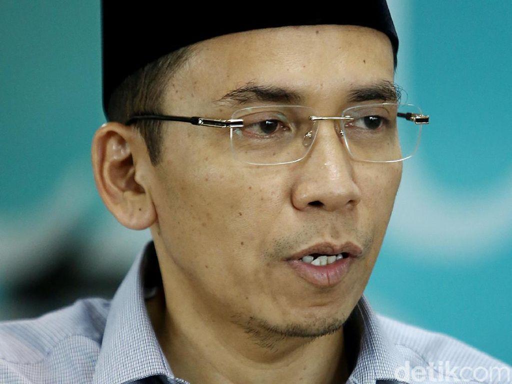 Warna Lama Jadi Penghalang TGB Dampingi Jokowi