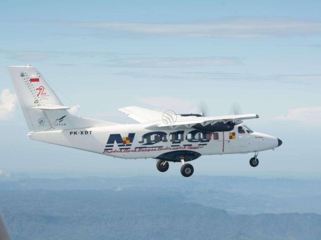 Lapan dan PT DI Kembangkan N219 Jadi Pesawat Amfibi