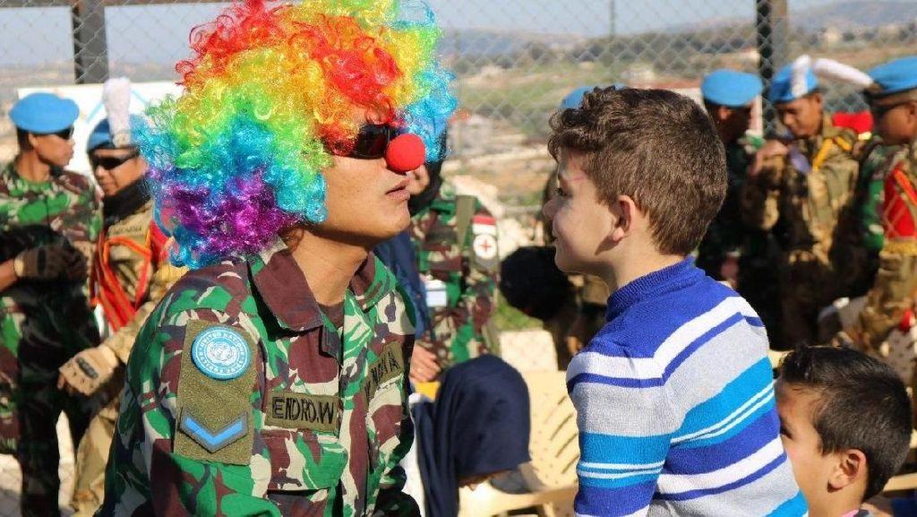 Prajurit Konga Gelar Perayaan Childrens Day di Lebanon