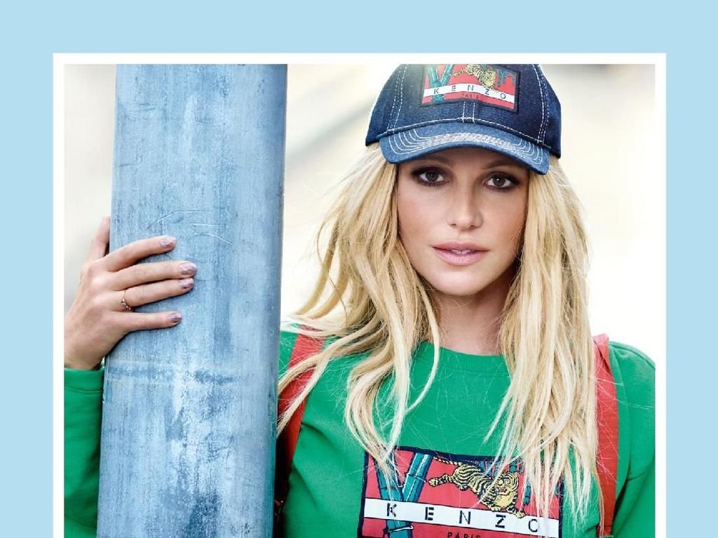 Jadi Wajah Kenzo, Britney Spears Pamer Perut Rata