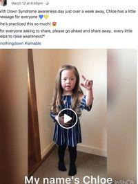 Gadis Ini Ajak Pakai Kaus Kaki Aneh di Hari Down Syndrome/