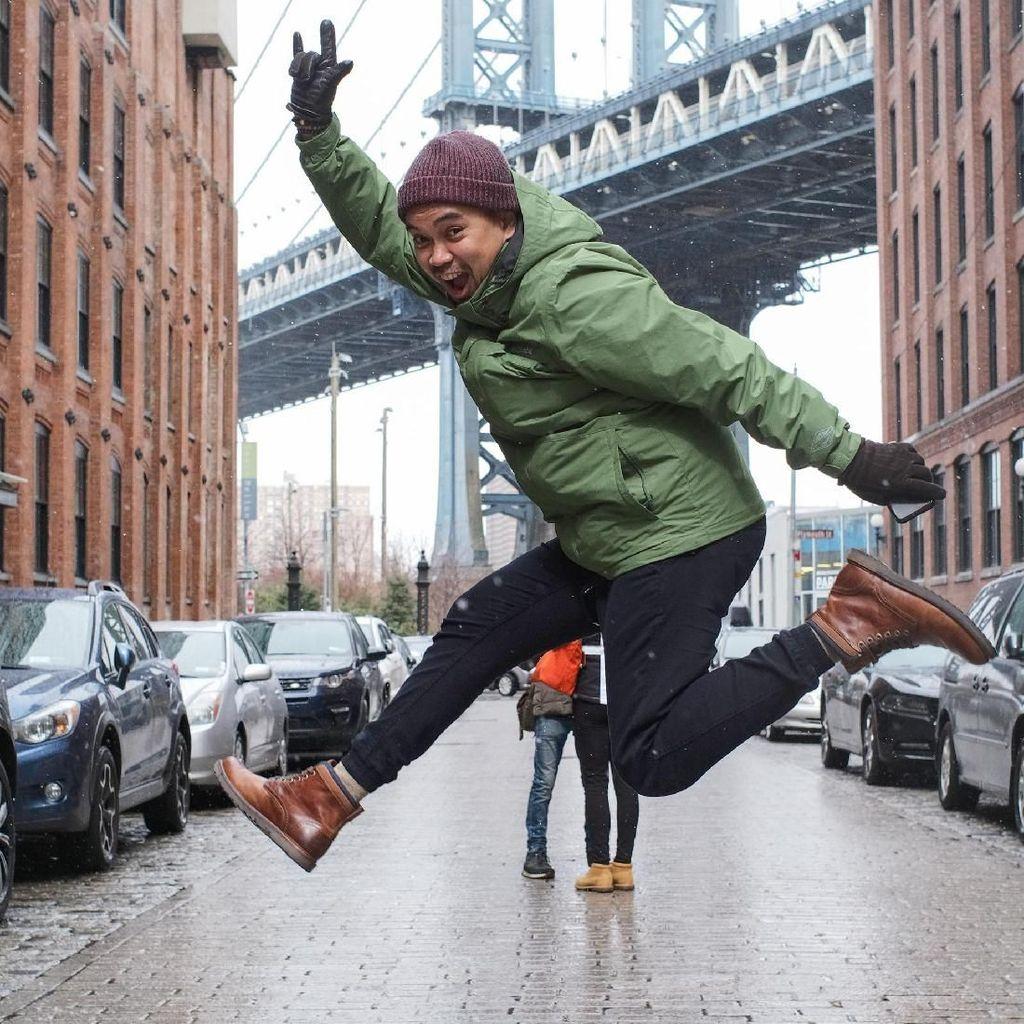 Tukang Becak Asal RI di New York Sempat Jadi Artis di AS