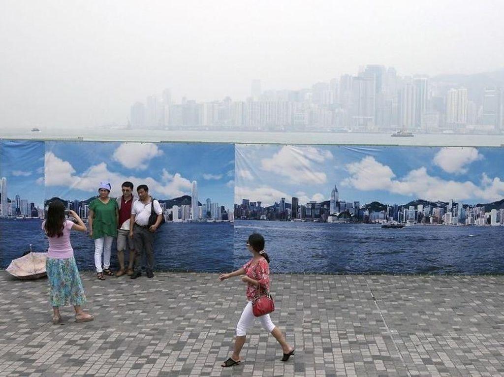 Potret Polusi di China Bikin Miris Hati