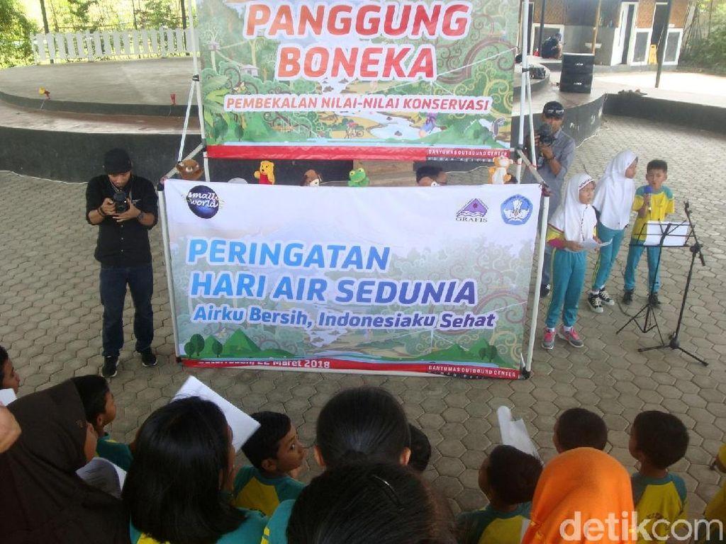 Siswa SD di Banyumas Peringati Hari Air Sedunia