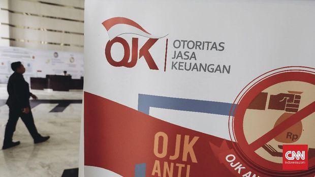 Ilustrasi Otoritas Jasa Keuangan (OJK). CNN Indonesia/Adhi Wicaksono.