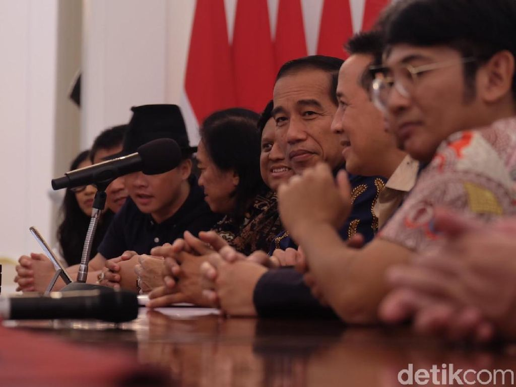 BCL hingga Glenn Bertemu Jokowi di Istana, Bahas Industri Musik