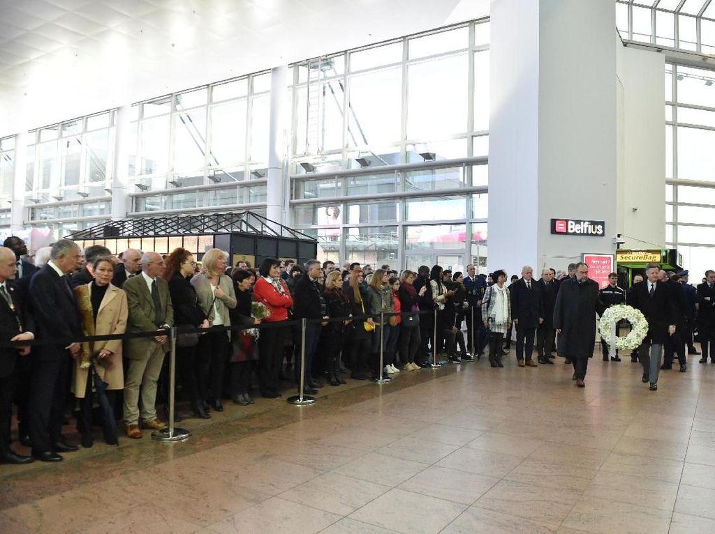 Peringatan 2 Tahun Bom Bunuh Diri Paling Mematikan di Belgia