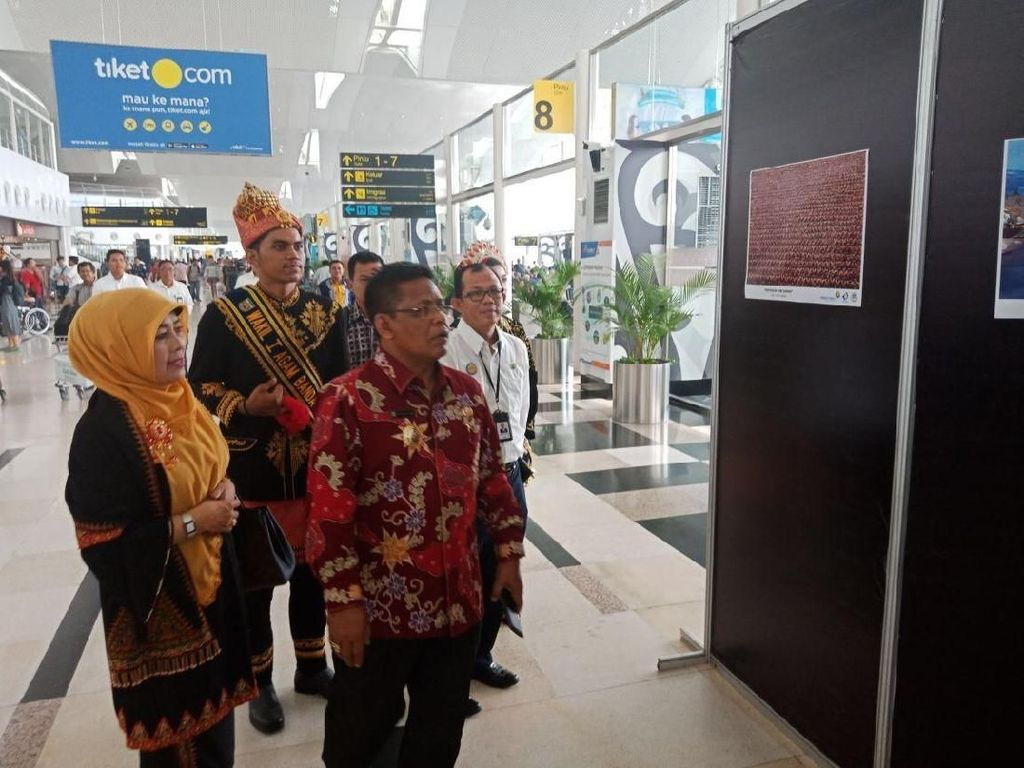 Pariwisata Banda Aceh Unjuk Gigi di Bandara Kualanamu
