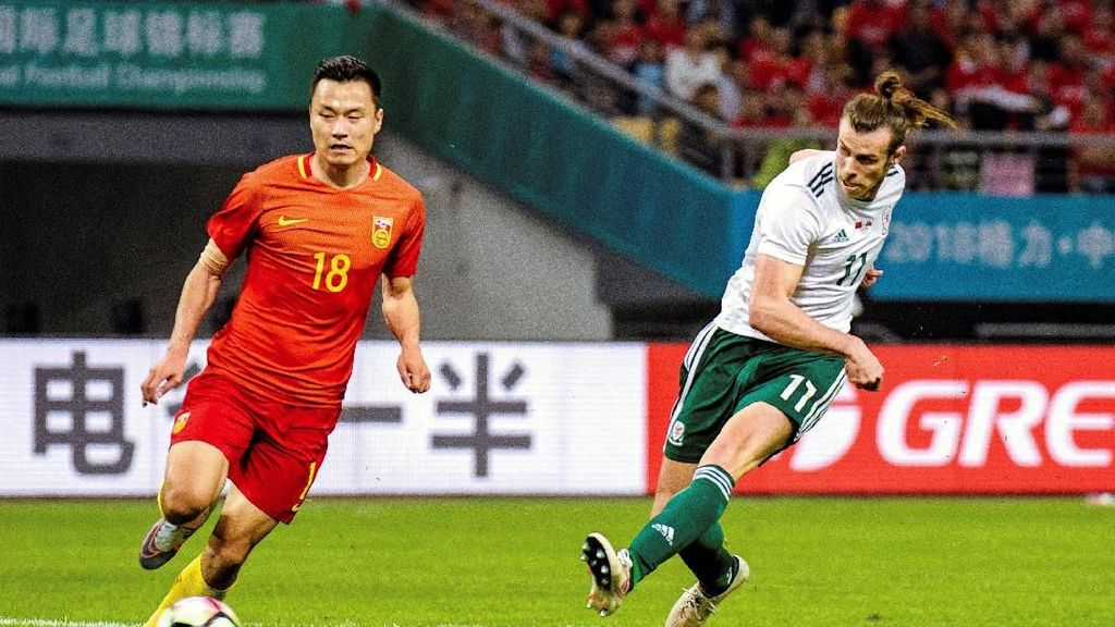 Wales Cukur China 6-0 di Debut Giggs