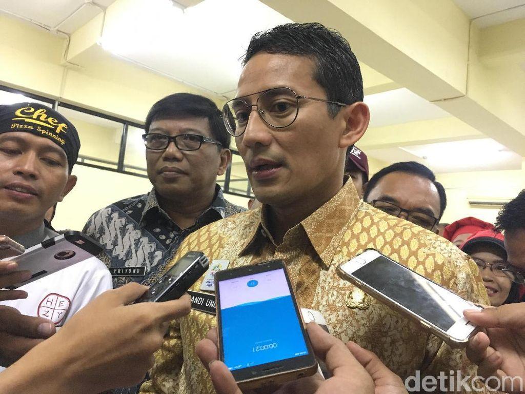 Sandiaga soal Rekomendasi Ombudsman: Kami akan Pelajari