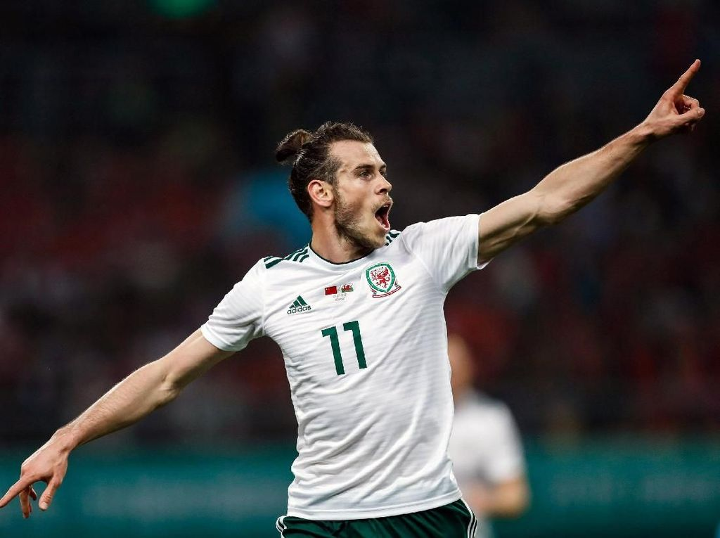 Lampaui Rush, Bale Jadi Topskorer Wales