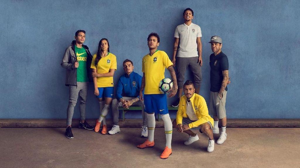 Jersey Baru Timnas Brasil: Kilas Balik Kuning Tim Samba