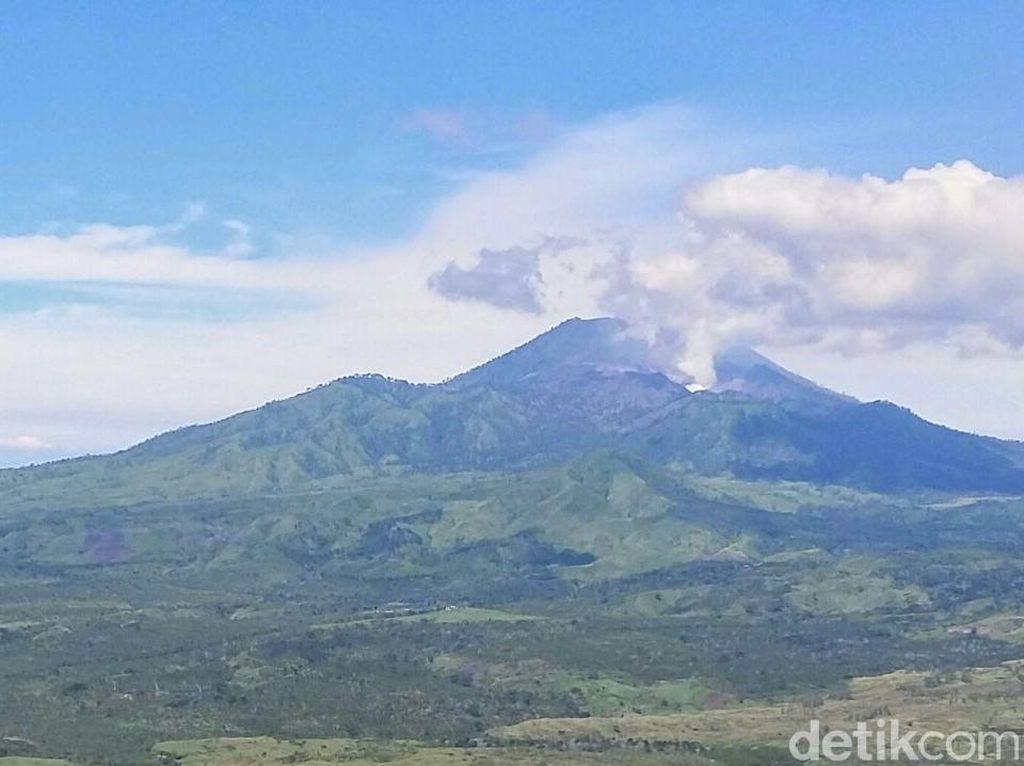 Penampakan Terkini Gunung Ijen setelah Letupan Gas Beracun