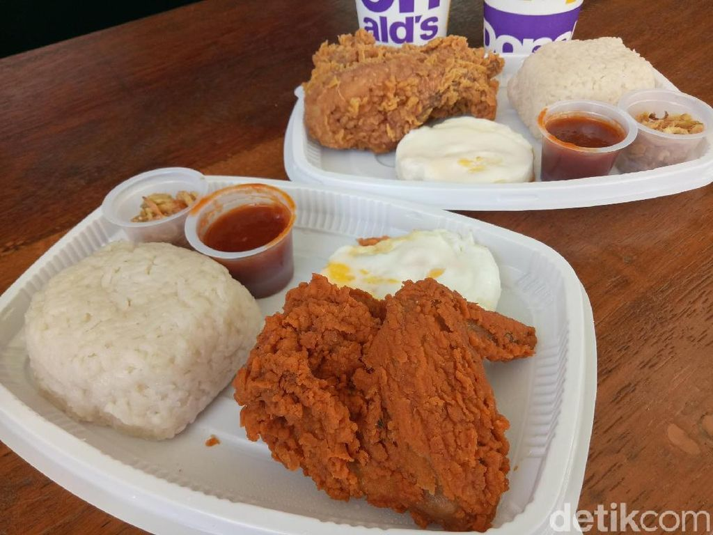 Ketika Nasi Uduk Berkolaborasi dengan Ayam Goreng ala Fast Food