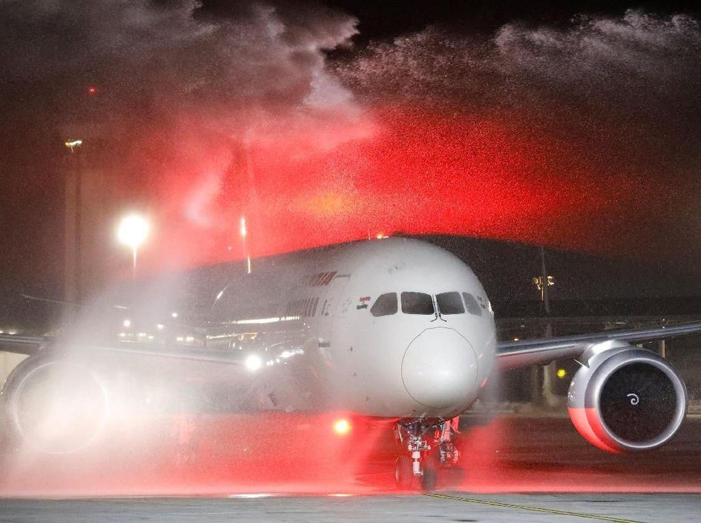 Momen Bersejarah Air India Terbang ke Israel Lewat Arab Saudi