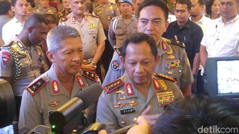 Kapolri: Bomber Surabaya dan Sidoarjo Teman Dekat