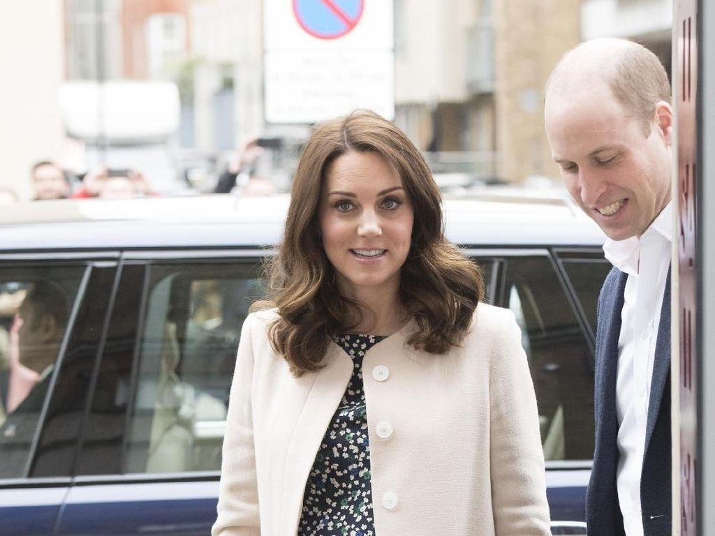 Website Ini Bakal Update Info Anak ke-3 Pangeran William-Kate