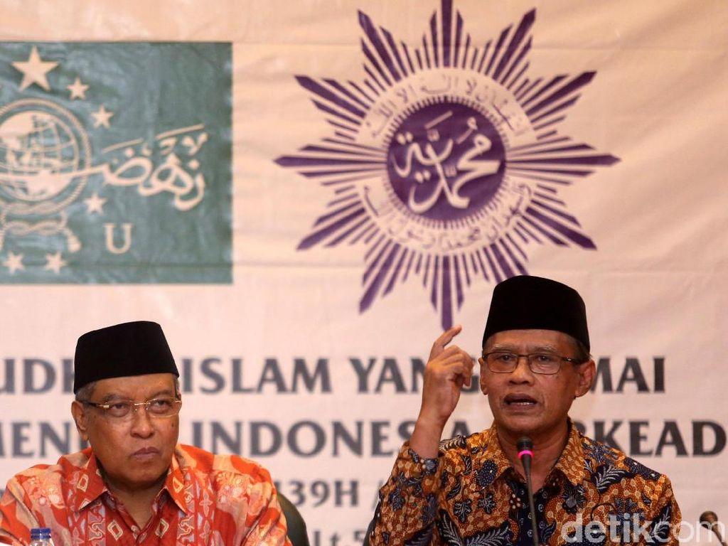 Beri Ucapan Harlah ke-94 NU, PP Muhammadiyah: Semoga Istikamah...
