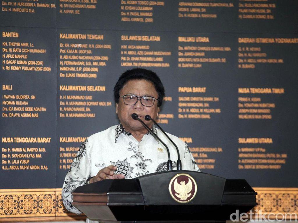 Jokowi Batal Buka Rakernas Hanura di Pekanbaru