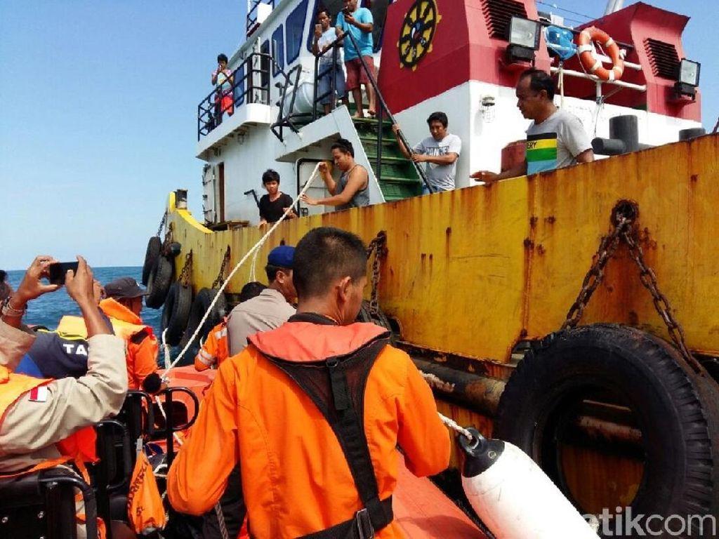 Dua ABK KM Bintang Sinar Rejeki yang Hilang Ditemukan Selamat