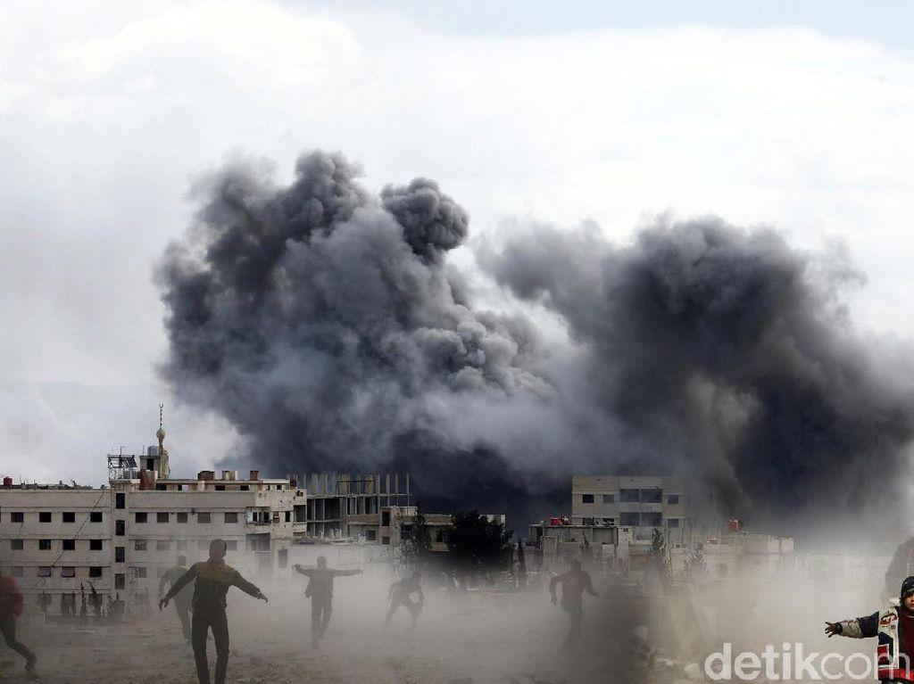 Ada Serangan Rudal, Kemlu Keluarkan Travel Warning ke Suriah