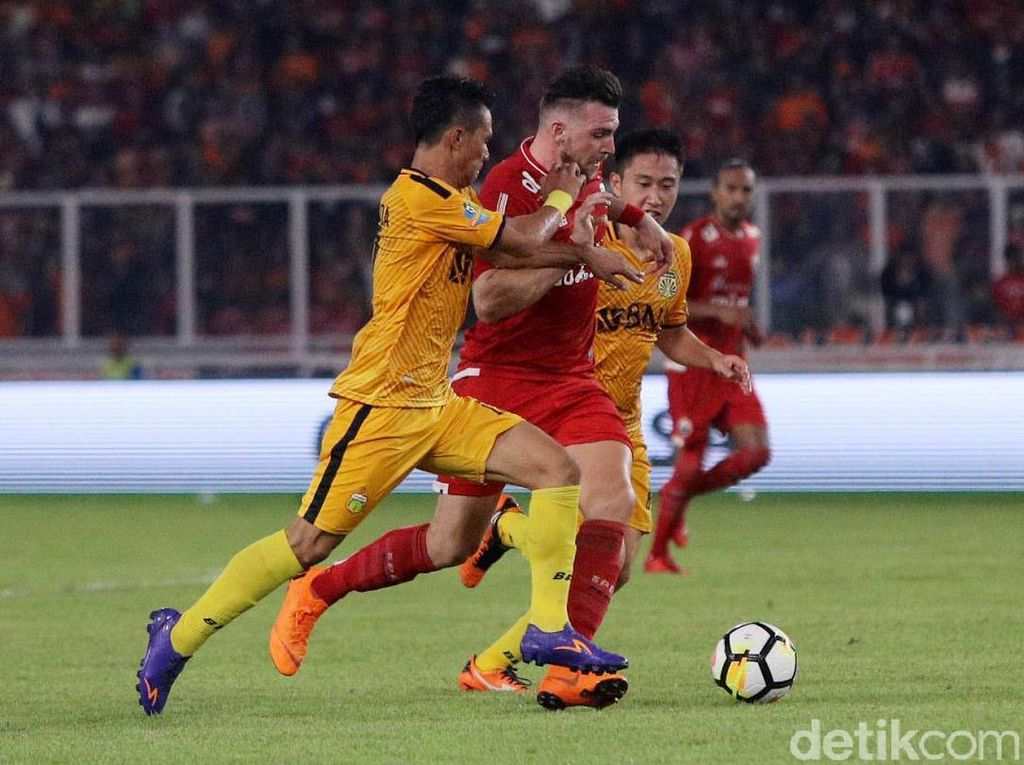 Persija Unggul Head to Head atas Bhayangkara FC, tapi Lebih Lambat Kini