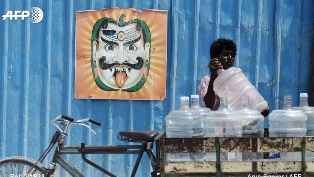 Potret Miris India di Hari Air Sedunia