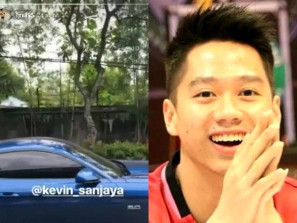 Ford Mustang Biru Milik Juara All England Kevin Sanjaya