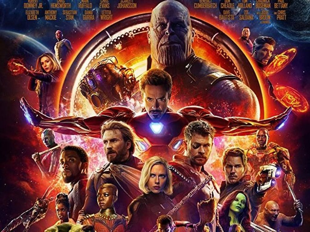 Keren! Avengers: Invinity War Jawara Box Office