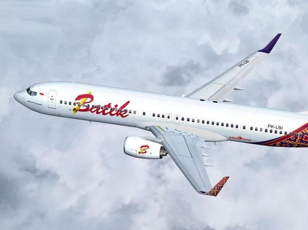 Lion Air Tegaskan Isu Penumpang Batik Air Terinfeksi Virus Corona Tak Benar