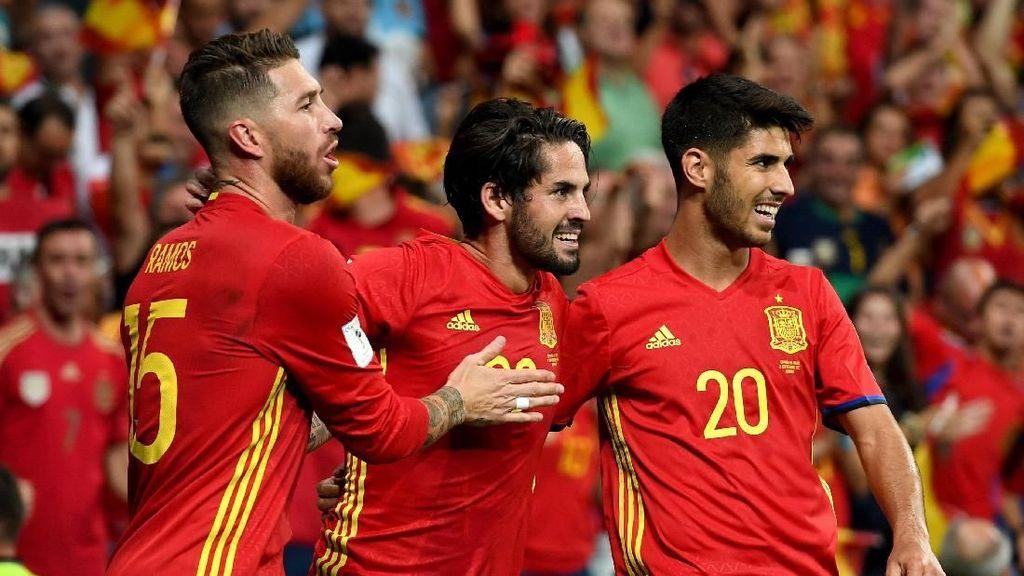 Lewat WhatsApp, Timnas Spanyol Umumkan Skuat Piala Dunia