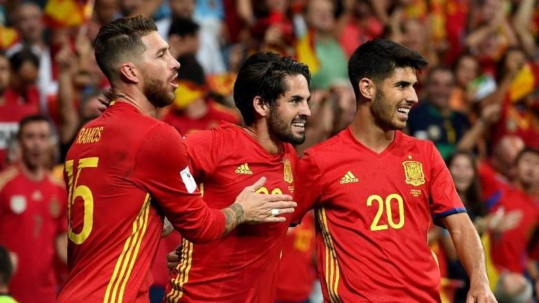 Menurut Saul Niguez, Ini Tiga Rival Utama Spanyol di Piala Dunia 2018