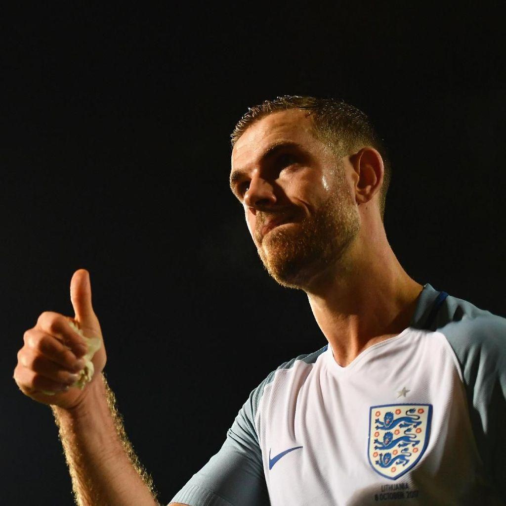 Jordan Henderson Tak Ambil Pusing soal Jabatan Kapten Inggris