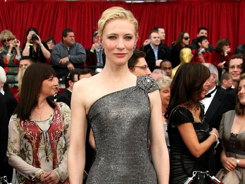 Giliran Cate Blanchett Bicara Pelecehan Seksual Weinstein