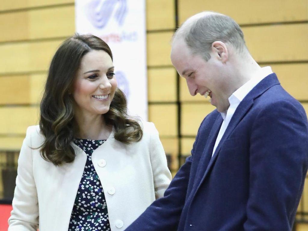Pangeran William Tak Sengaja Ungkap Jenis Kelamin Anak ke-3
