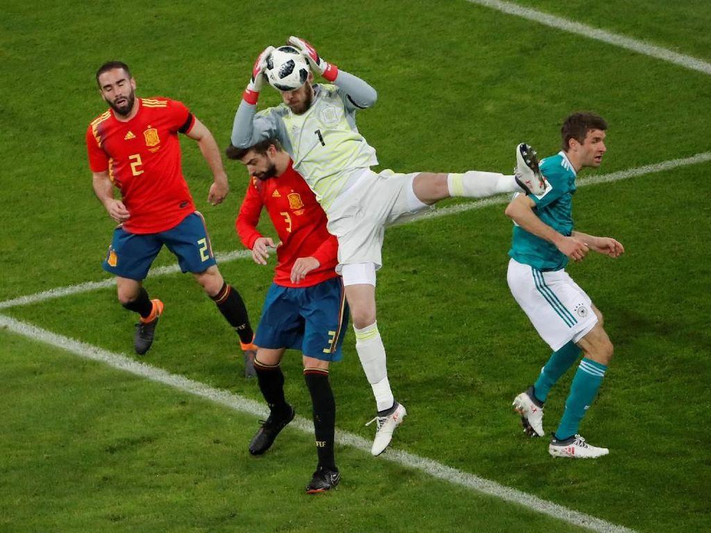 Jerman vs Spanyol Berakhir 1-1