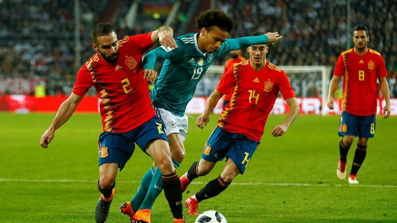 Drama La Furia Roja Jelang Kick-off Piala Dunia 2018