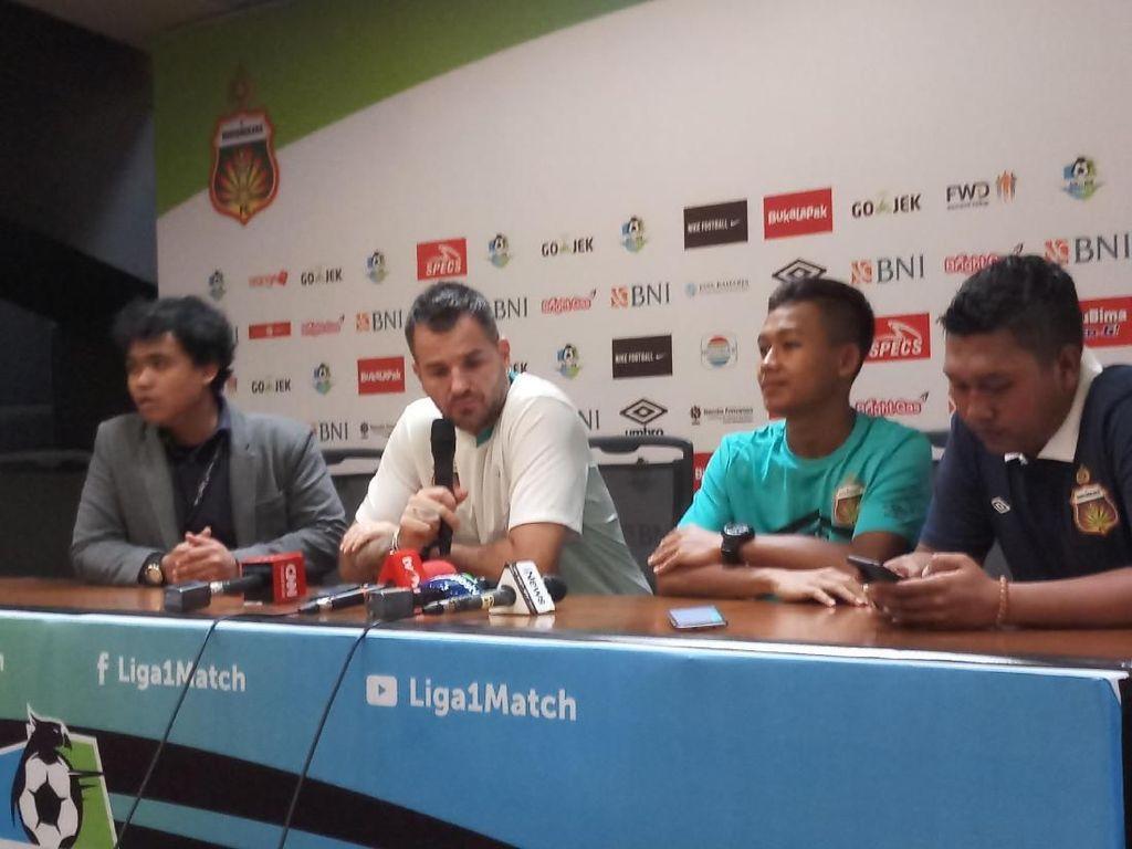 Sani Rizki Fauzi Jimat Keberuntungan Bhayangkara FC