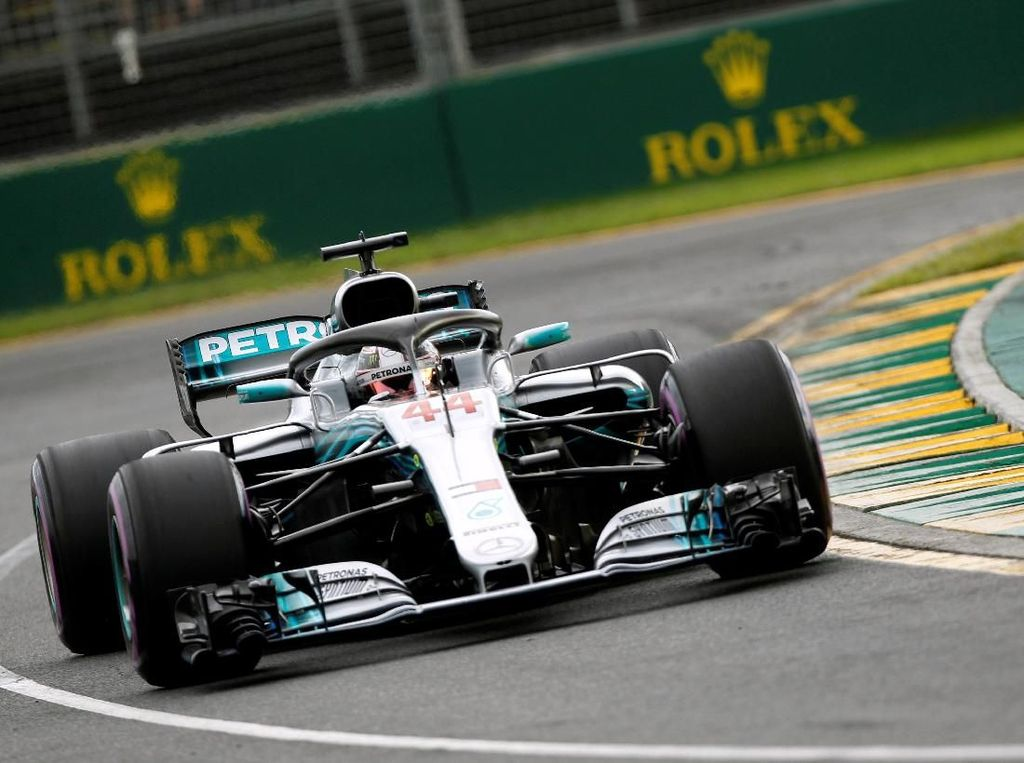 Ungguli Raikkonen dan Vettel, Hamilton Pole di Melbourne