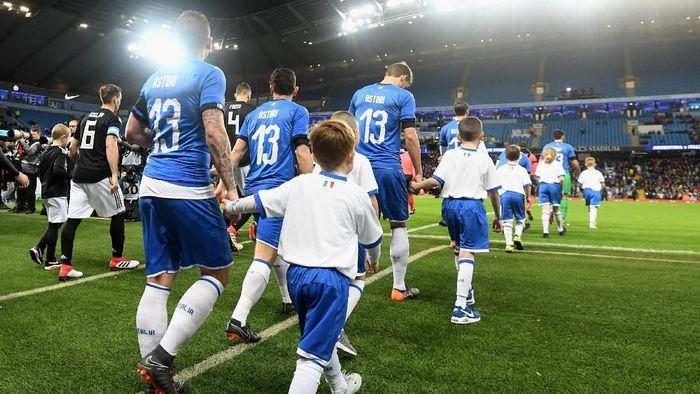 Laga persahabatan ini dilangsungkan di kandang Manchester City, Etihad Stadium, pada Sabtu (24/3/2018) dinihari WIB. Foto: Claudio Villa/Getty Images