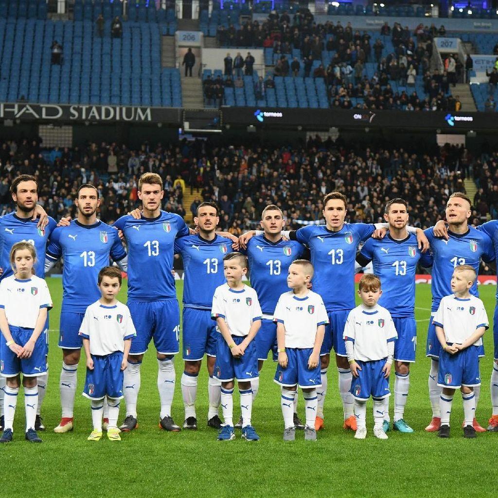 Peringkat FIFA: Italia Turun Lagi, Indonesia di Bawah Filipina dan Myanmar