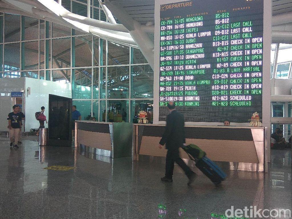 Marah-marah, Turis Inggris Tampar Petugas Imigrasi di Ngurah Rai