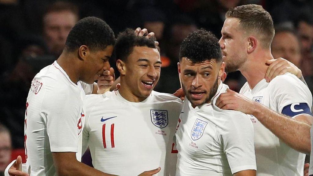 Gol Tunggal Lingard Menangkan Inggris atas Belanda