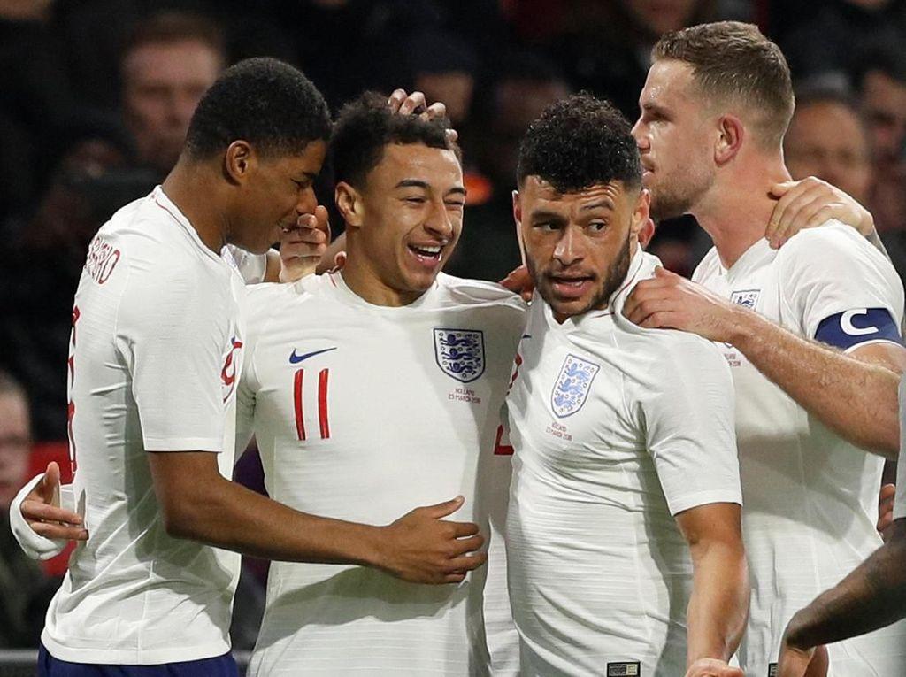 Daftar Skuad Inggris: Lingard dan Shaw Kembali ke Tim Tiga Singa