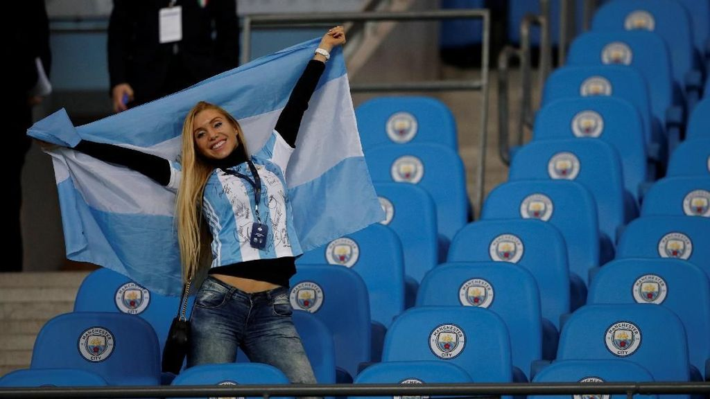 Foto: Argentina Kalahkan Italia di Kandang Manchester City